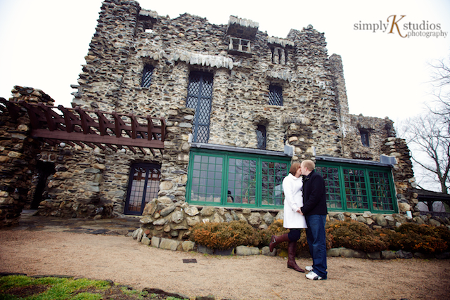 Engagement Photo Session at Gillette's Castle