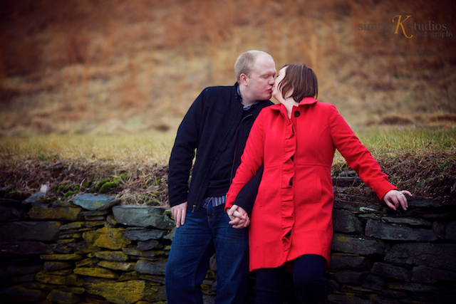Engagement Session at Gillette's Castle