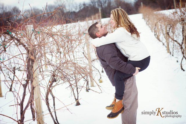 Getting Engagement Photos in CT