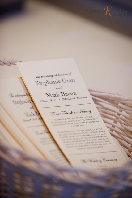 Blizzard Wedding at Saybrook Point Inn