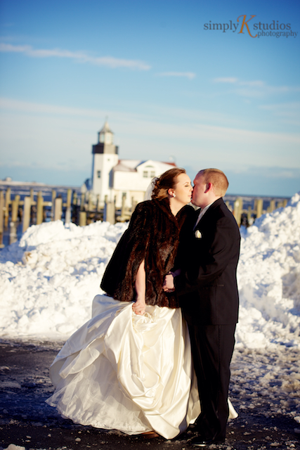 CT Wedding during Blizzard of 2013